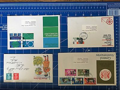 First Day covers Anniversaries, Gandhi, PO Technology, Great Britain