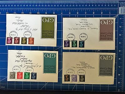 GPO Definitive Issue First Day covers