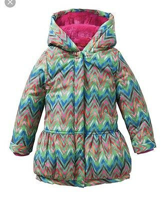 Oilily Challly  All Over Zig Zag  Coat BNWT 4 Years