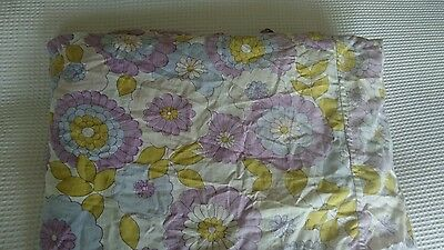 Gorgeous Retro 1970s bed sheet fabric