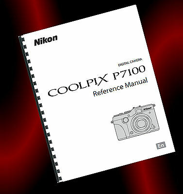 ~PRINTED~ Nikon Coolpix P7100 Digital Camera User Guide, Instruction Manual (A4)
