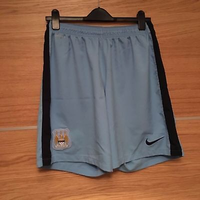 XL Manchester City Shorts, Blue, Home, Man, Mens, Nike, Dri Fit