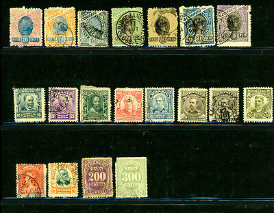 Brazil great selection of 19 stamps - great value