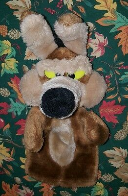 1993 WILE E. COYOTE HAND PUPPET Warner Bros Looney Tunes Collectible