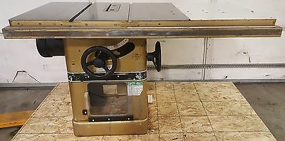 "Powermatic 66 Table Saw, 5HP, 208-230/460V, 3PH, 52"" Rip Cap, Biesemeyer Fence"