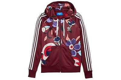 2016Adidas Originals x Rita Ora PAINTED HOODED TRACK TOP AY7127 paint-by-number