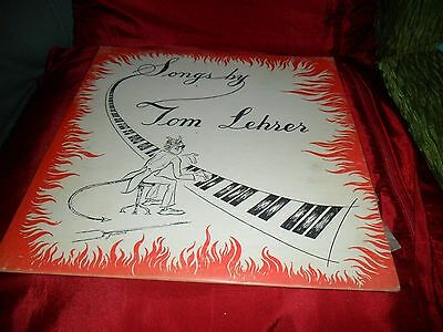 LP record 10 inch.  Songs by Tom Lehrer. Very good condition