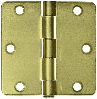 NATIONAL MFG/SPECTRUM BRANDS HHI N830-227 Door Hinge, 3-1/2-Inch, Satin Brass