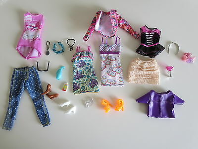 Barbie Doll Outfit lot, Dresses & Accessories, shoes, jewelry lot, clothes  #3