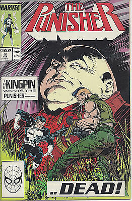 The Punisher #16, Vol II (Feb 89) - The Kingpin Wants the Punisher Dead