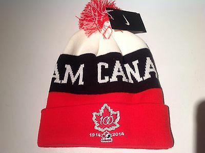 Team Canada 100th Aniversary Hockey, Toque/Beanie/Hat, Adult, by Nike!