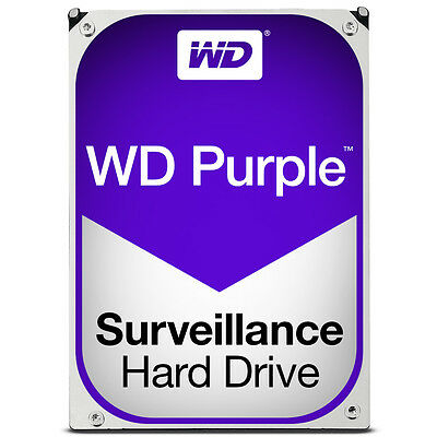 Western Digital Purple 1TB - 4TB Surveillance CCTV 3.5 SATA Hard Drive