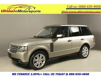 2010 Land Rover Range Rover HSE Sport Utility 4-Door 2010 RANGE Rover 2010 HSE LUX 4X4 NAV DVD SUNROOF CAMERA PDC BROWN ARABICA SC