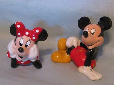 Micky and Minnie Mouse Salt & Pepper Shaker