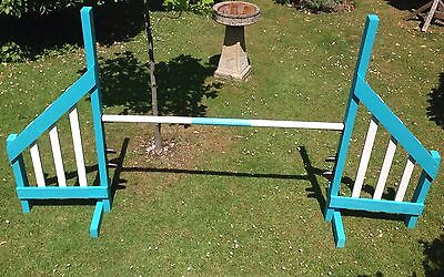 Dog Agility Exercise Equipment Wooden Hurdles Jumps New Stock Ready To Take Away