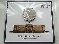 £100 coin BUCKINGHAM PALACE 2015 Fine Silver Royal Mint LIMITED EDITION UK