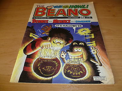 BEANO Comic Number 2467 , Oct 28th 1989