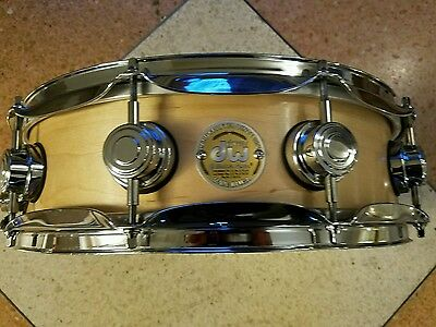 "DW CRAVIOTTO SOLID SHELL MAPLE snare drum 4.5""x14"" $$"