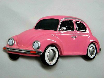3D Vehicle Fridge Magnet Antique Automobile Pink Turtle Volkswagen Free Shipping