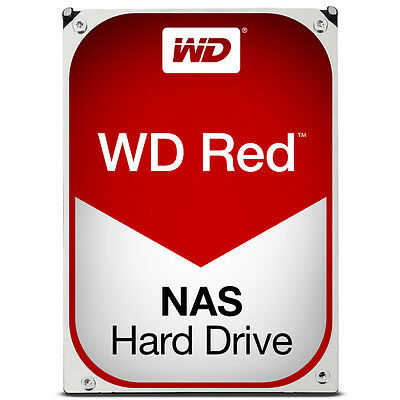 Western Digital Red NAS 1TB - 4TB 5400RPM 64MB 3.5 SATA Hard Drive