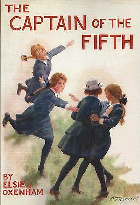 ELSIE J OXENHAM:-  The Captain of the Fifth  (Abbey Girls connector)