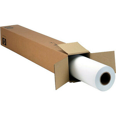 """HP Designjet Large Format Coated Paper for Inkjet Printers 36"""" x 150' New In Box"""