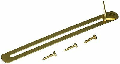 Stanley Hardware 7-1/2-Inch Lid Support, Bright Brass #801525