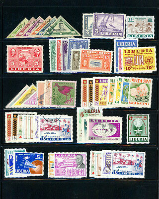 Liberial Sensational selection of 49+ stamps