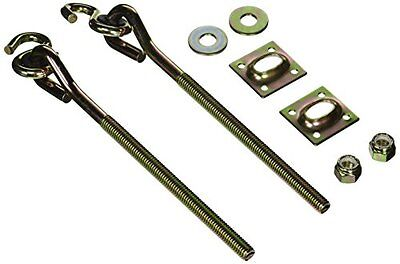 National Hardware V2039 Swing Hook Kit in Yellow Chromate