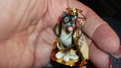 New Tiny Ones Small ALASKAN MALAMUTE In Memory Of Dog Ornament Angel with Wings