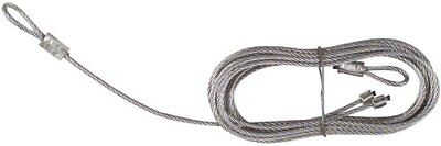 """National Hardware V7618 8'8"""" x 3/32"""" Torsion Spring Lift Cables in Galvanized"""