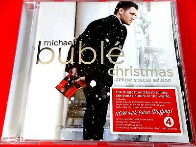 Michael Buble -The Christmas Album Deluxe 19 Track  Edition Cd *new & Sealed*