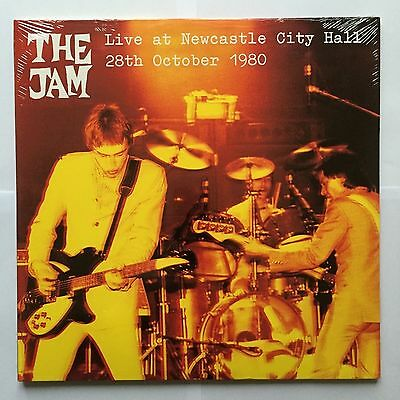 The Jam Live At Newcastle City Hall 28.10.80 Double LP Sealed Paul Weller Mod