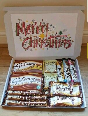 Galaxy Chocolate Large Christmas Selection Box Gift Hamper  Set Personalised New