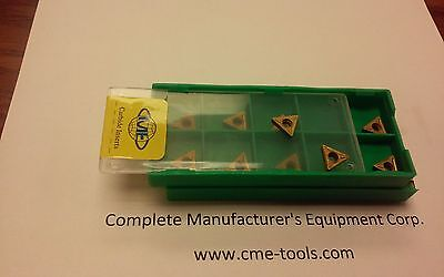 """20pcs TCMT2(1.5)1 Tin coated carbide inserts for 3/8""""&smaller index tool bits"""