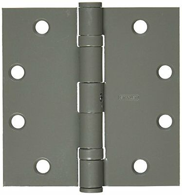 "Stanley Hardware FBB179 4-1/2"" X 4-1/2"" Ball-Bearing Hinges in Prime Coat"