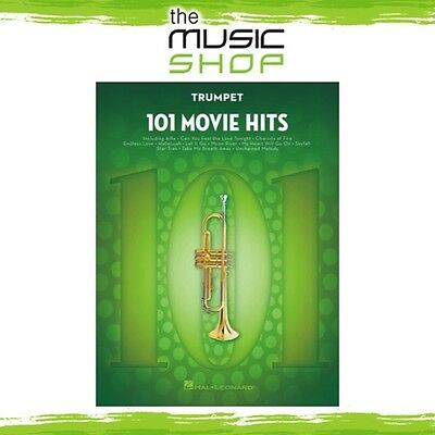 New 101 Movie Hits for Trumpet Music Book - Instrumental Solo Songbook