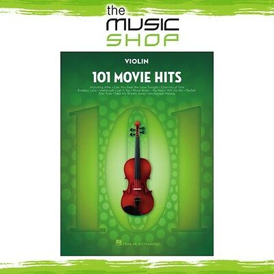 New 101 Movie Hits for Violin Music Book - Instrumental Solo Songbook