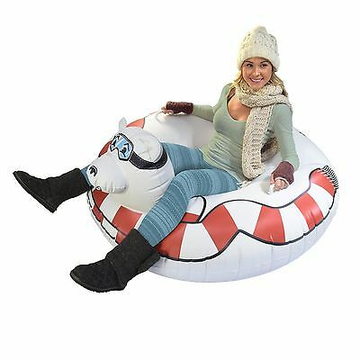 GoFloats Winter Snow Tube Polar Bear - Ultimate Sled and Toboggan
