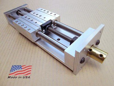 """Z Axis CNC 4.75"""" ++ Fast-Travel ++ ANTI-BACKLASH ++ Linear Slide Router Actuator"""