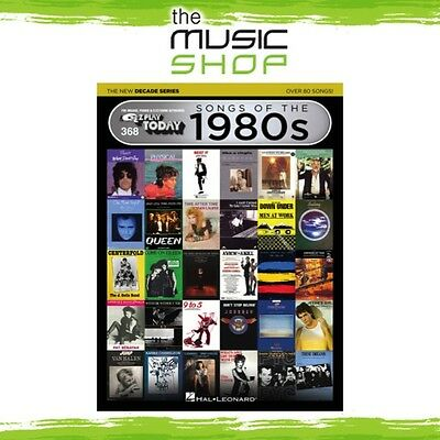 New EZ Play #368 Songs of the 1980s Piano Music Book - New Decade Series 80s