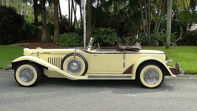 1969 Replica/Kit Makes ALL STEEL AUBURN BOAT TAIL REPLICA CUSTOM 1931 AUBURN BOATTAIL CONVERTIBLE ALL STEEL !!! REPLICA CLASSIC AND COLLECTIBLE