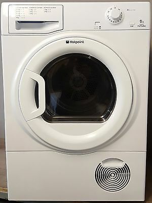 Hotpoint Condenser Dryer - Large Family 9Kg Capacity - White - No Vent Required