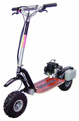 Go Ped Trail Ripper Black Frame New in Box in Stock Ready to Ship Gas Scooter