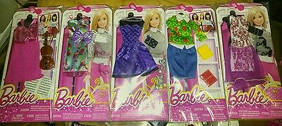 """BARBIE COMPLETE LOOK FASHION Pack's """"5 Pack Lot/5 Diff Complete Looks/FREESHIP.!"""