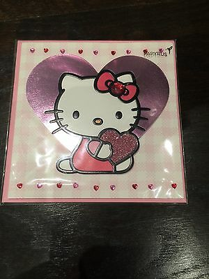 Papyrus Valentine's Day card Hello Kitty for anyone