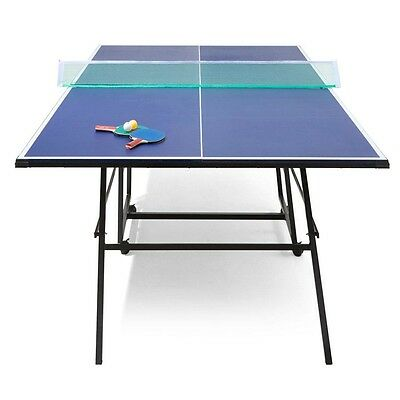 Table Tennis Table Ping Pong Regulation Size Pro Rollaway and Foldaway Playback