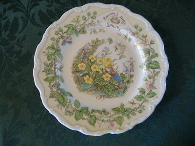 Royal Doulton Brambly Hedge Spring Plate