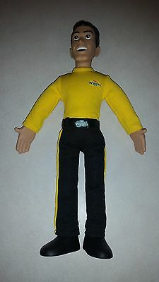 """The Wiggles 15"""" Talking Singing GREG Doll - Working Clean"""
