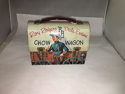 Roy Rogers Dome Top Lunchbox Lunch Box    158-T